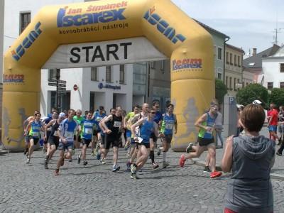 Běh o korunu města Lanškroun