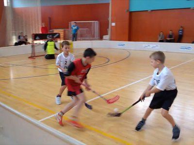 Florbalový turnaj mladších žáků