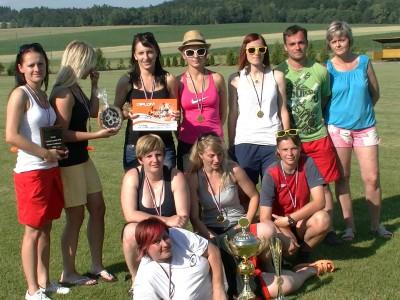 Fotbalový turnaj žen v Sázavě