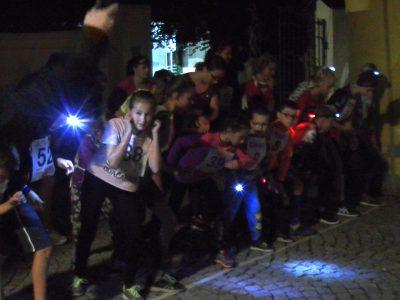 Noční běh Lanškrounem