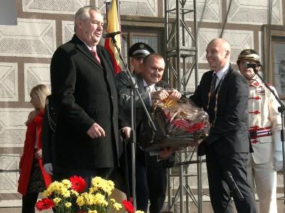 Prezident v Lanškrouně