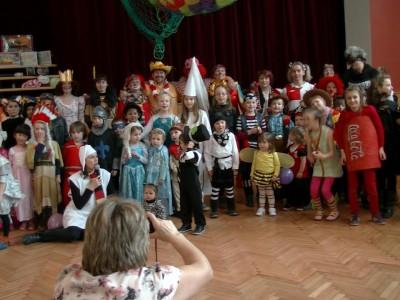 Dětský karneval v Sázavě