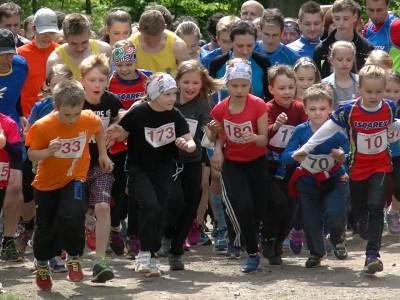 Běh do Zámečku a dětský den