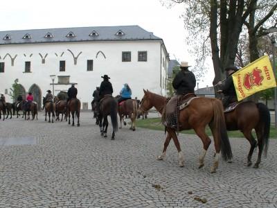 Žehnání koní a jezdců
